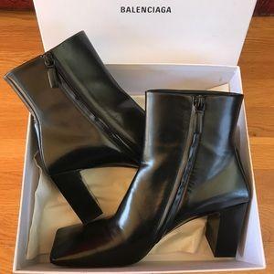 Balenciaga Square Toe Boots